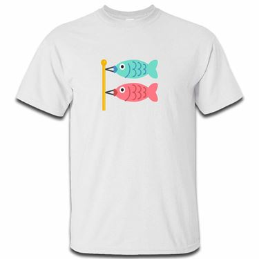 Picture of Emoji Carp Streamer Mens Tshirt