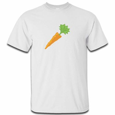 Picture of Emoji Carrot Mens Tshirt
