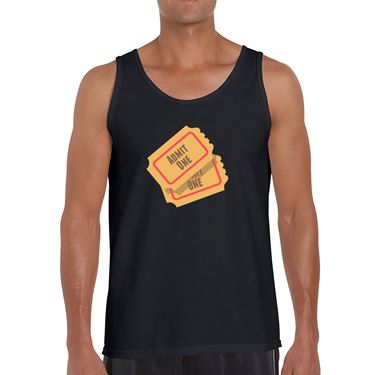 Picture of Emoji Admission Tickets Mens Vest