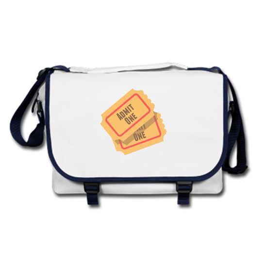 Picture of Emoji Admission Tickets Messenger Bag