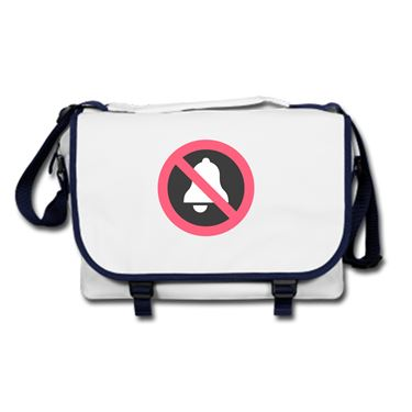 Picture of Emoji Bell With Cancellation Stroke Messenger Bag