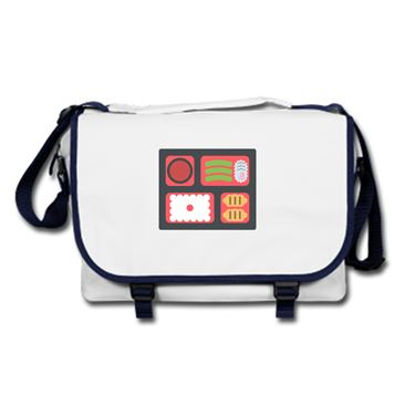 Picture of Emoji Bento Box Messenger Bag