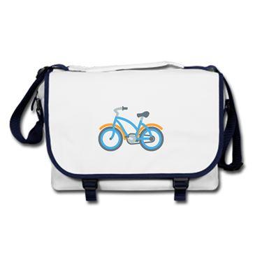 Picture of Emoji Bicycle Messenger Bag