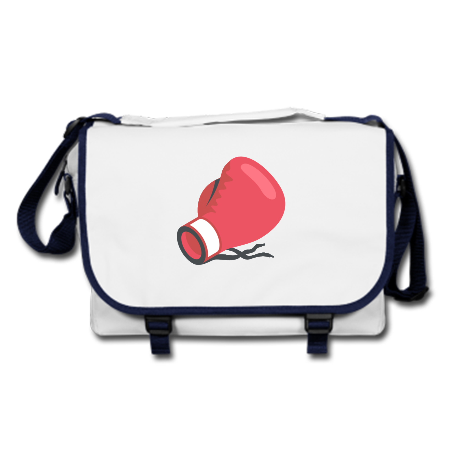 emoji boxing glove messenger bag available in many colours free