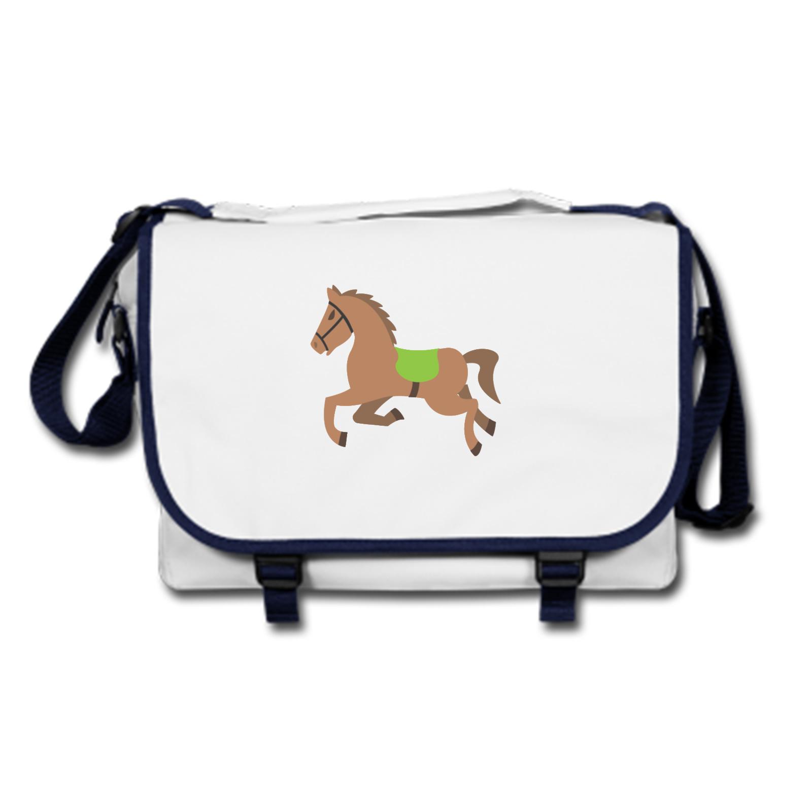 Picture Of Emoji Horse Messenger Bag