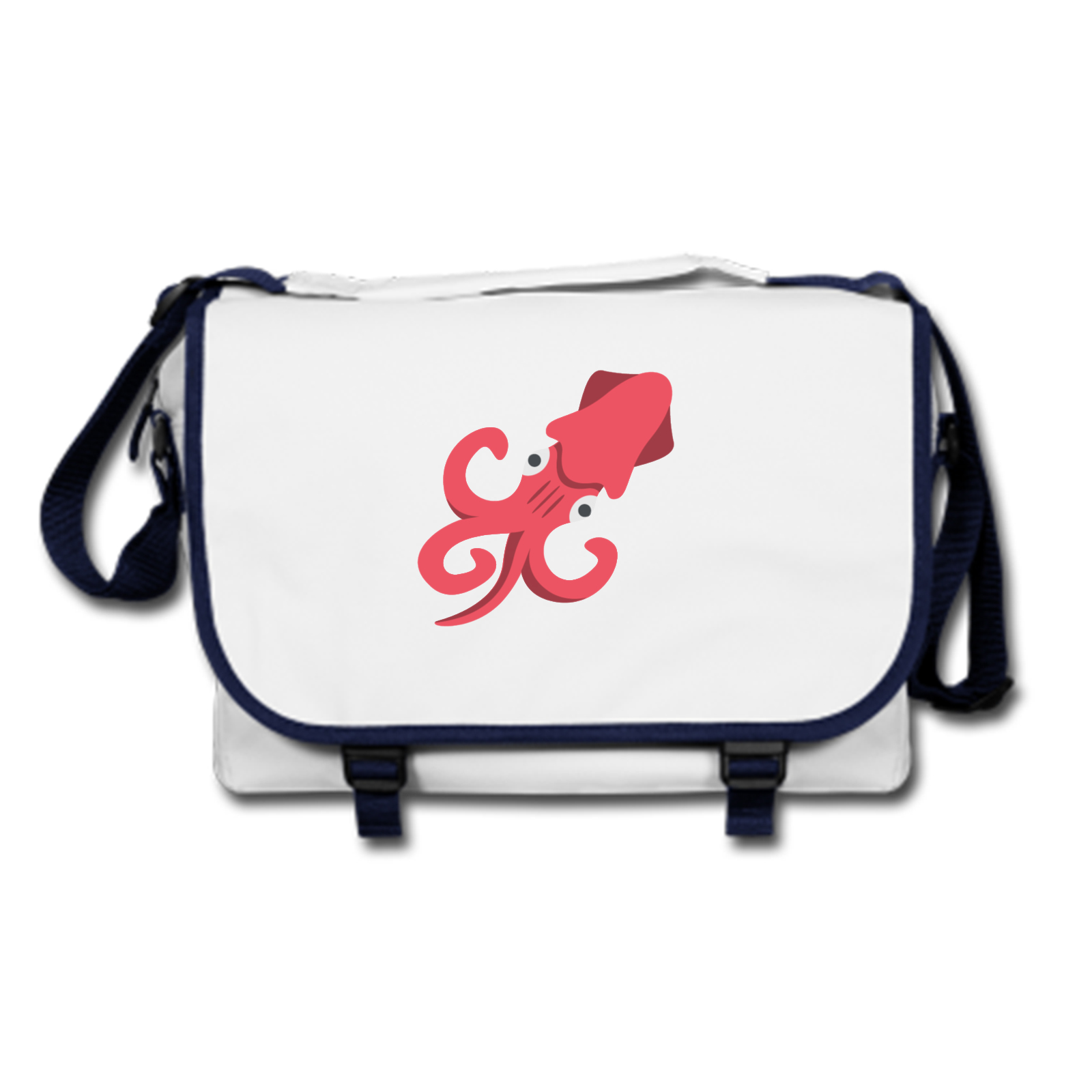 2b962a2c51 Picture of Emoji Squid Messenger Bag