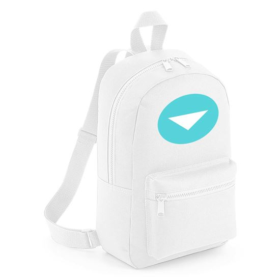 Emoji Down Pointing Small Red Triangle Mini Backpack