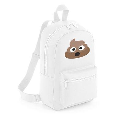 Picture of Emoji Pile Of Poo Mini Backpack