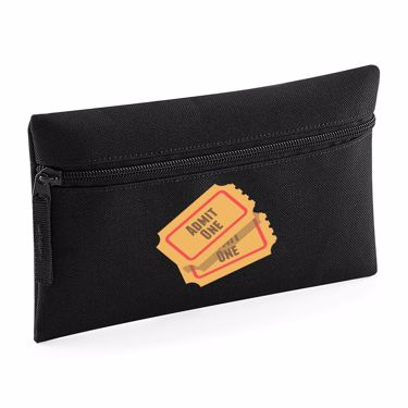 Picture of Emoji Admission Tickets Compact Flat Pencil Case