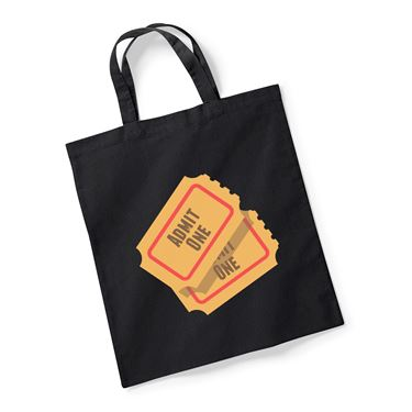 Picture of Emoji Admission Tickets Reusable Bag For Life