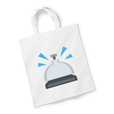 Picture of Emoji Bellhop Bell Reusable Bag For Life
