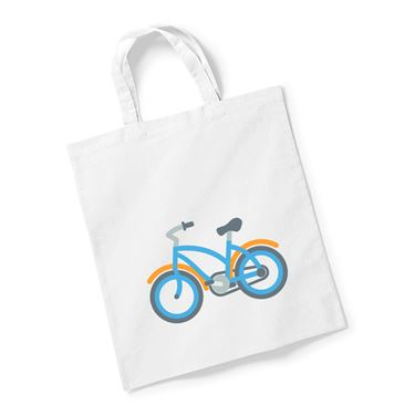 Picture of Emoji Bicycle Reusable Bag For Life