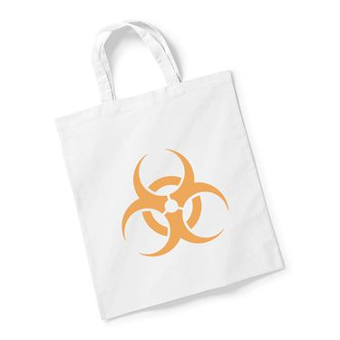 Picture of Emoji Biohazard Sign Reusable Bag For Life