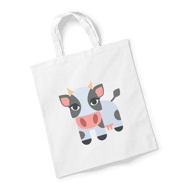 Emoji Cow Reusable Bag For Life