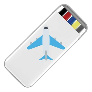 Picture of Emoji Airplane Stationery Set
