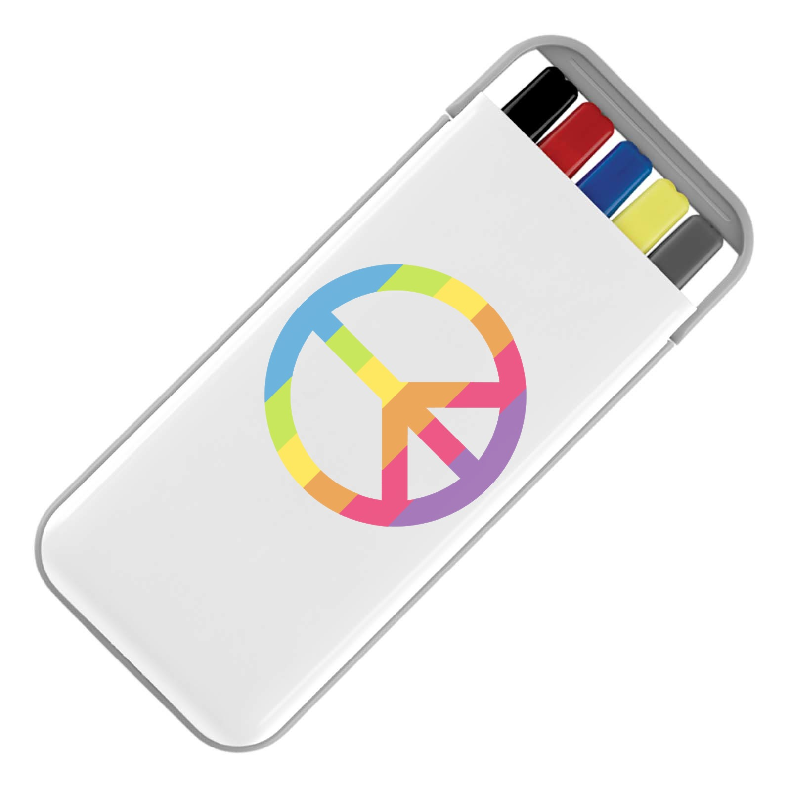 Emoji Peace Symbol Stationery Set Available In Many Colours Free