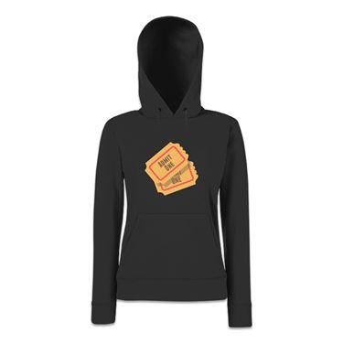 Picture of Emoji Admission Tickets Womens Hoodie