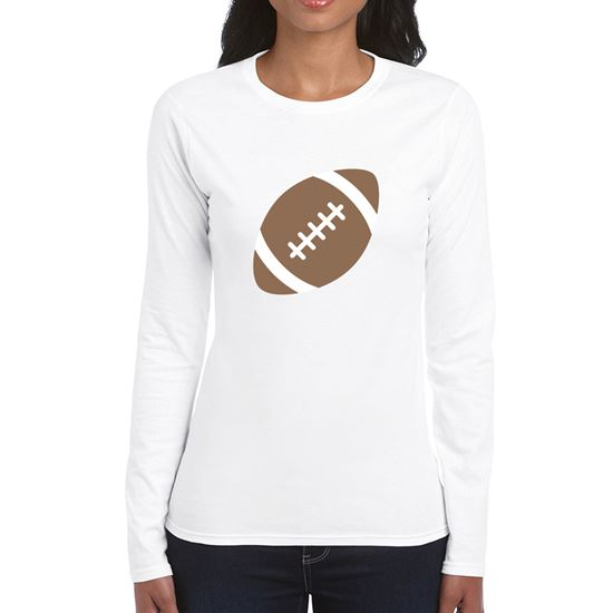 Emoji American Football Womens Long Sleeve Tshirt. Available in many ... 21a3230a2