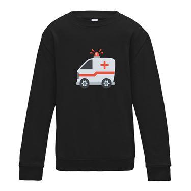 Picture of Emoji Ambulance Womens Sweatshirt