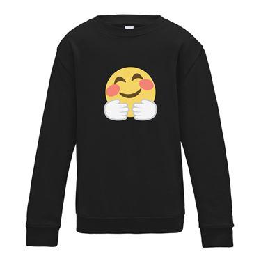 Picture of Emoji Hugging Face Womens Sweatshirt