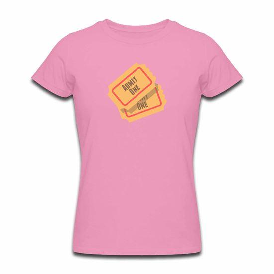 Picture of Emoji Admission Tickets Womens Tshirt