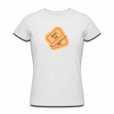 Picture of Emoji Admission Tickets Womens Tshirt