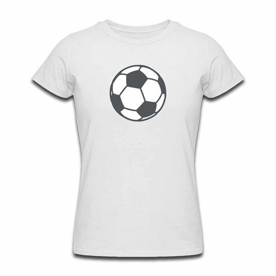Emoji Soccer Ball Womens Tshirt. Available in many colours. Free ... b7bed0bac