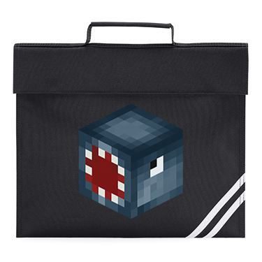 Picture of Ballistic Squid Player Skin 3D Head Left Pose Book Bag