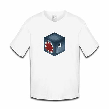 Picture of Ballistic Squid Player Skin 3D Head Left Pose Boys Tshirt