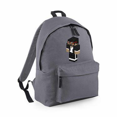 Picture of Captainsparklez Captain Sparklez Player Skin 3D Standing Left Pose Maxi Backpack