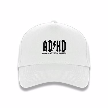 Picture of Adhd Highyway To Hey Look A Squirrel baseball cap