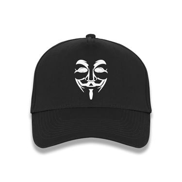 Picture of Anonymous Group Guy Fawkes Mask baseball cap