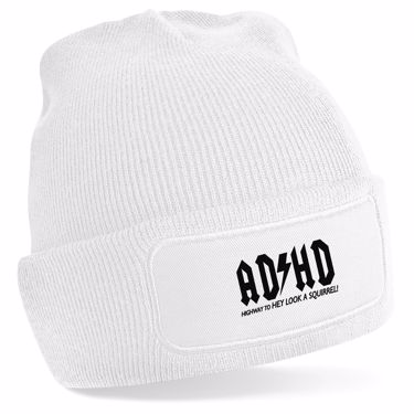 Picture of Adhd Highyway To Hey Look A Squirrel Beanie Hat
