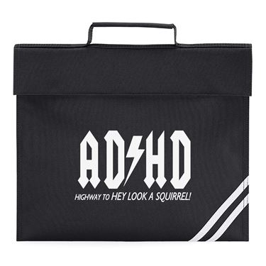 Picture of Adhd Highyway To Hey Look A Squirrel Book Bag