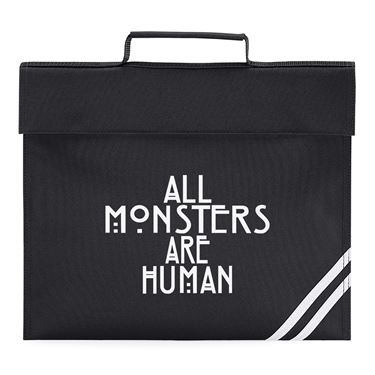 Picture of All Monsters Are Human Book Bag