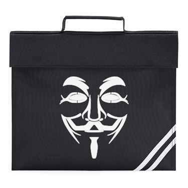Picture of Anonymous Group Guy Fawkes Mask Book Bag