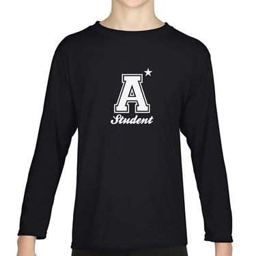 Picture of A Plus Varsity Student Boys Long Sleeve Tshirt