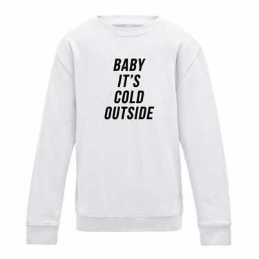 Picture of Baby Its Cold Outside Boys Sweatshirt