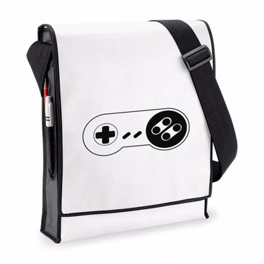 Picture of Console Controller Retro Budget Messenger Bag