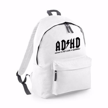Picture of Adhd Highyway To Hey Look A Squirrel Fashion Backpack
