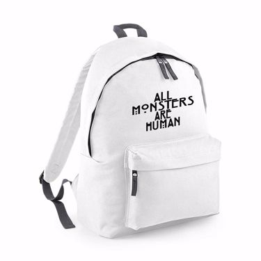 Picture of All Monsters Are Human Fashion Backpack