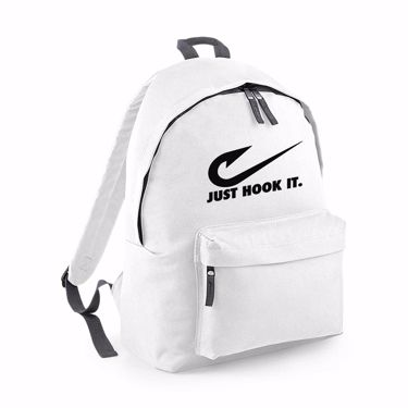 Picture of Angler Fishing Just Hook It Fashion Backpack