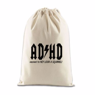 Picture of Adhd Highyway To Hey Look A Squirrel Gift Bag