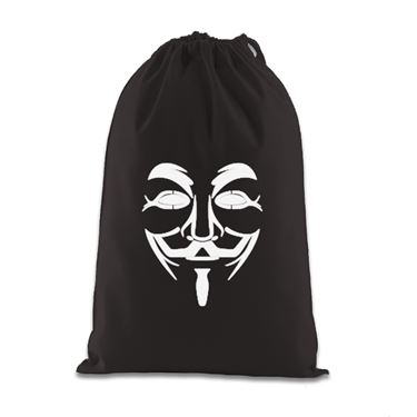 Picture of Anonymous Group Guy Fawkes Mask Gift Bag