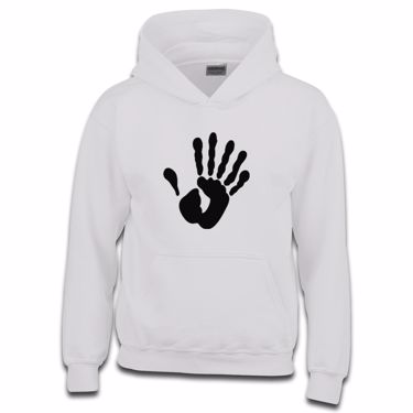 Picture of Alien Hand Six Fingers Girls Hoodie