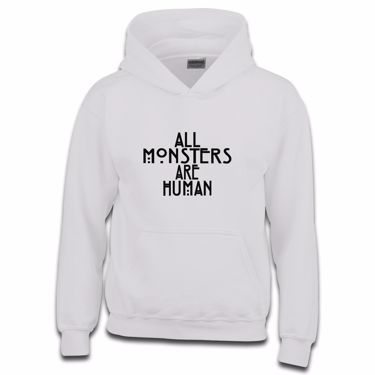 Picture of All Monsters Are Human Girls Hoodie