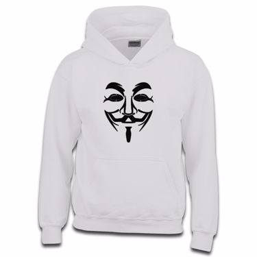Picture of Anonymous Group Guy Fawkes Mask Girls Hoodie