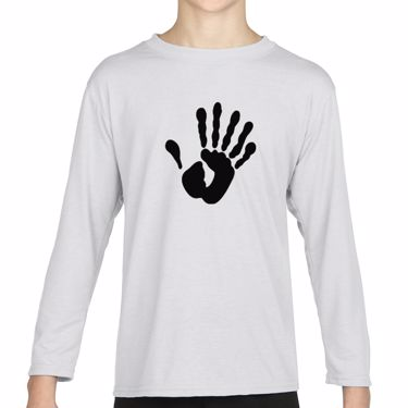 Picture of Alien Hand Six Fingers Girls Long Sleeve Tshirt