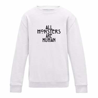 Picture of All Monsters Are Human Girls Sweatshirt