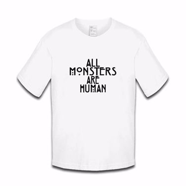 Picture of All Monsters Are Human Girls Tshirt